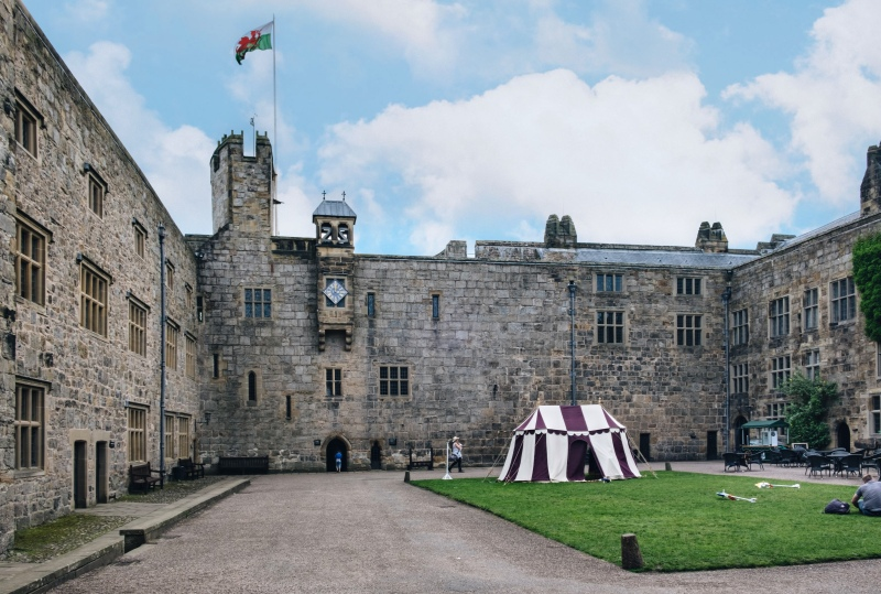 Chirk Castle Courtyard
